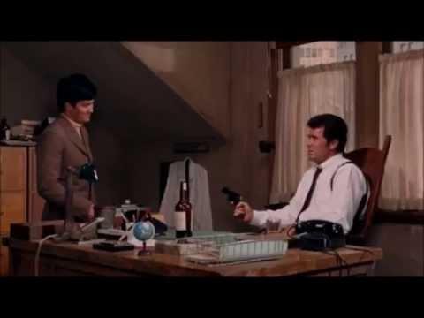 James Garner and Bruce Lee in Marlowe 1969