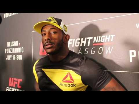 Post-Fight Interview with Khalil Rountree JR At UFC Glasgow