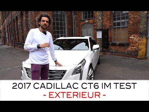 Das Exterieur des 2017 Cadillac CT6 Limousine (417 PS) Walkaround (1/3: EXTERIEUR)