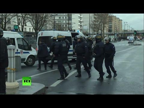 террористы в париже видео