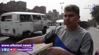 سكان كوبري العاشر يناشدون المسئولين تعديل 'مطب الموت'.. فيديو