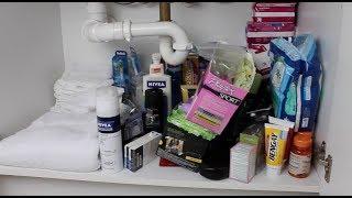 Declutter Vlog: Bathroom Cabinet