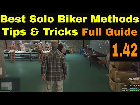 GTA5 Online PC |  4 Bike Solo Delivery | Best Solo Public Method | Full Guide