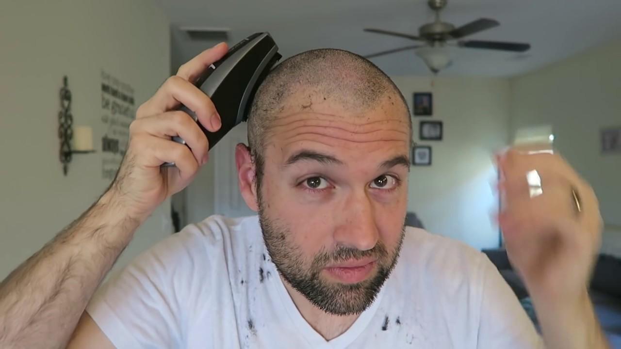 Watch Me Do A Zero Guard Buzz Cut From A Full Head Of Hair Youtube