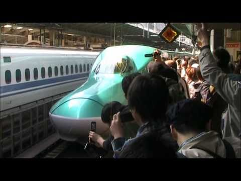 【つなげよう、日本。】東北新幹線全線・E5系『はやぶさ』運転再開