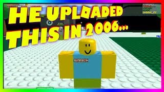 the FIRST roblox youtuber...