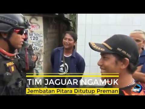 Preman Tutup Jembatan Pitara, Tim Jaguar Ngamuk