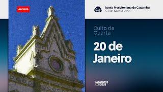 IPC AO VIVO - Culto de Quarta-feira (20/01/2021)