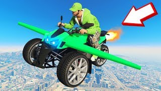 *NEW* 500MPH FLYING TRICYCLE In GTA 5! (DLC)