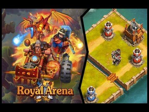 ROYAL ARENA - juego parecido al Clash Royale para facebook!