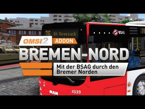 OMSI2 AddOn Bremen-Nord Produktvideo