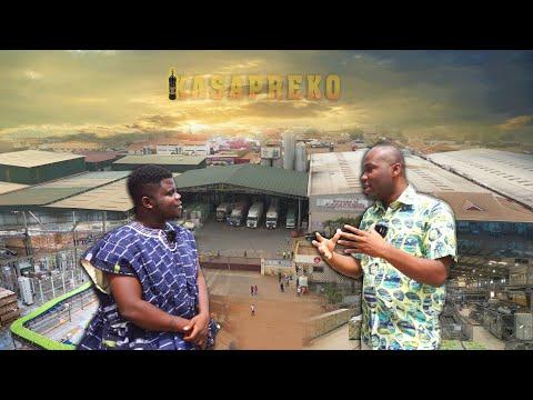 What's Inside The Biggest Beverage Factory In Ghana?Kasapreko!