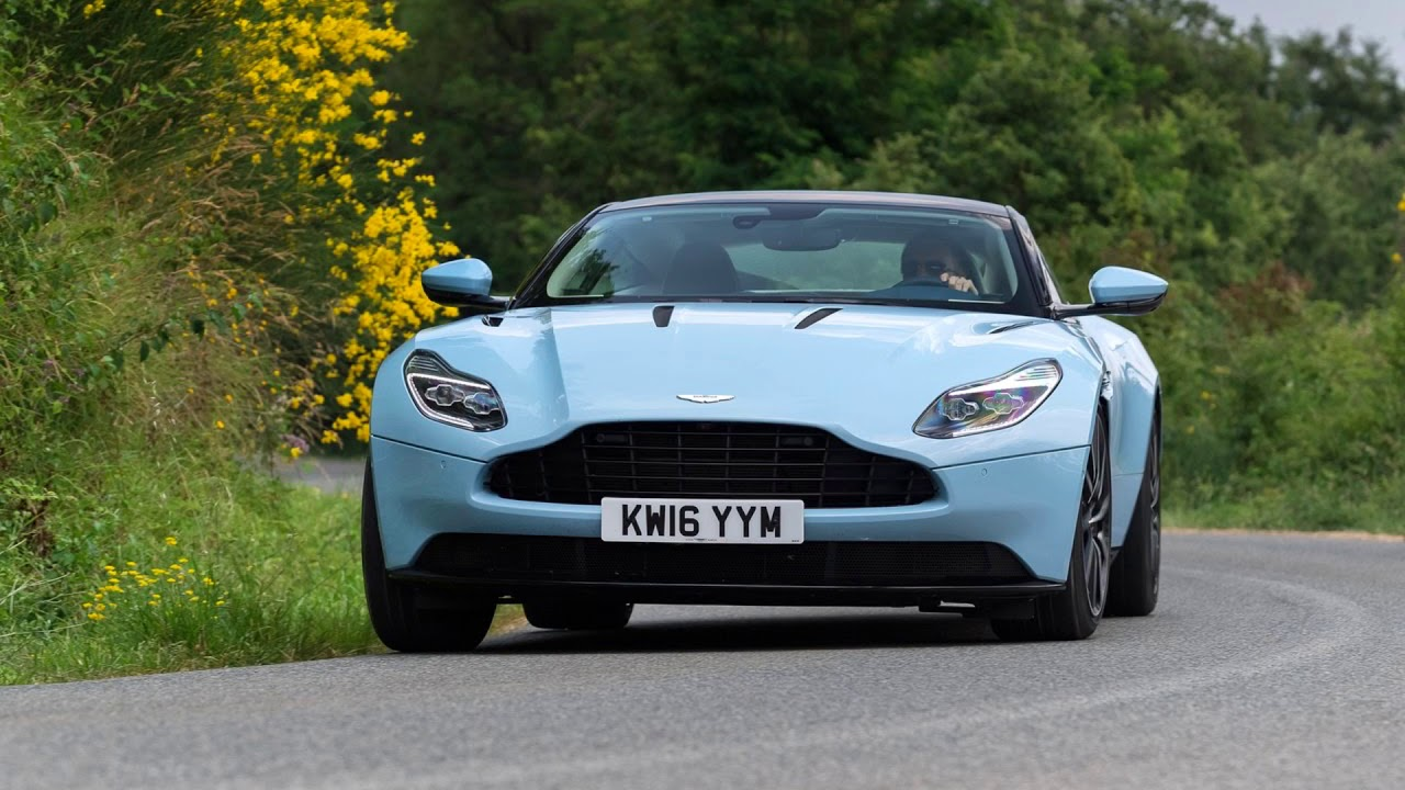 aston martin db11 frosted glass blue 2017 - youtube