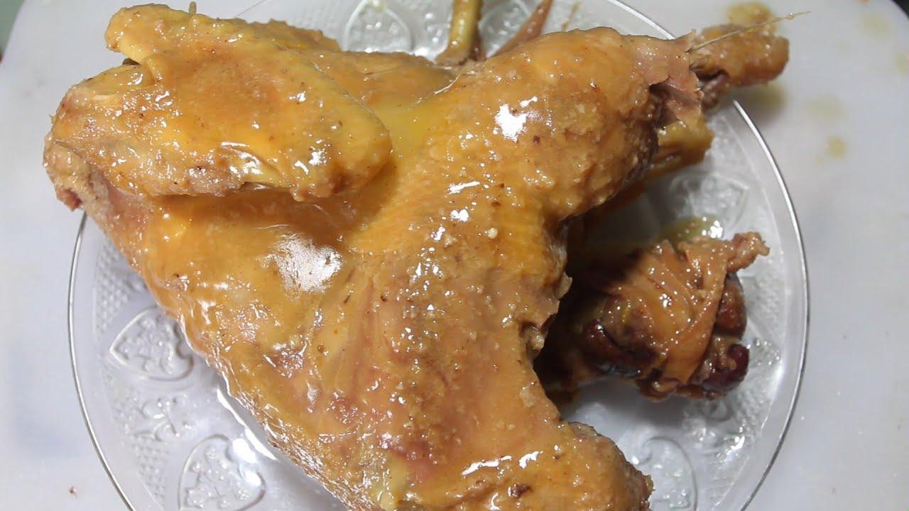 Resep Ayam Kampung Ingkung Jodohnya Gudeg Youtube
