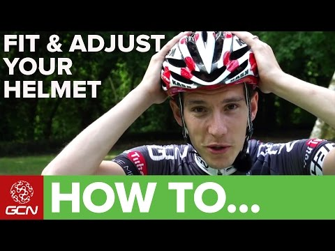 How To Fit & Adjust A Cycle Helmet