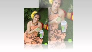 Personal Branding Photo Session: Healthy Hula Girl