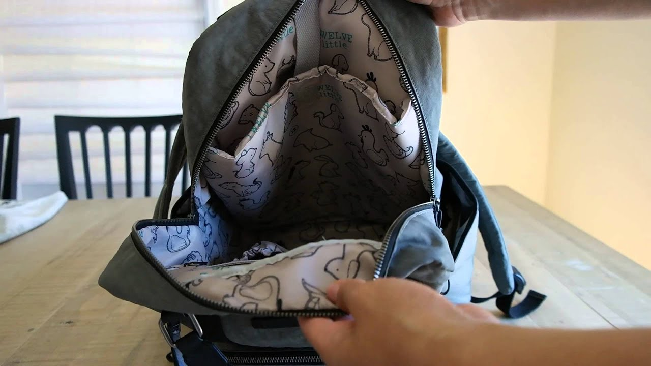6970e91f1d98 Twelve Little Unisex Courage Diaper Bag Review - Quick Thoughts ...