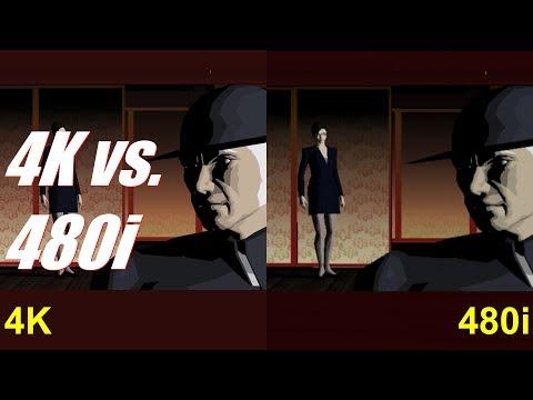Killer7 Supplement 06 - 4K vs. 480i