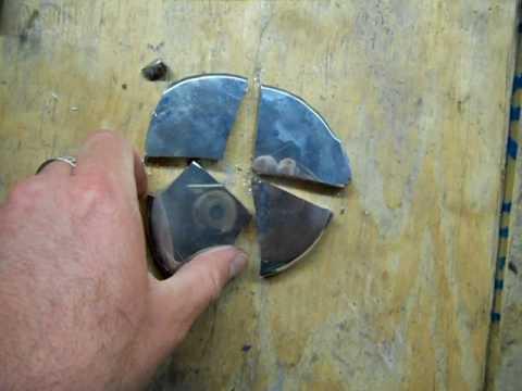 4 inch speculum mirror - Isaac Newton