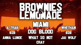 Brownies & Lemonade Miami @ MANA Wynwood