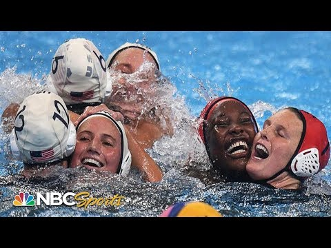 USA sinks Spain for water polo three-peat at World Championships | NBC Sports