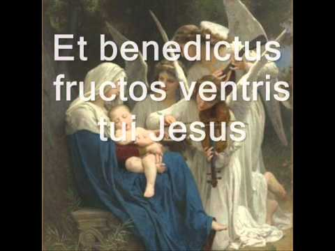 Ave Maria by J.S Bach karaoke with lyrics
