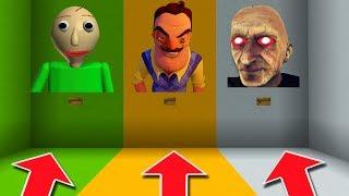 Minecraft PE : DO NOT CHOOSE THE WRONG BUTTON! (Baldi