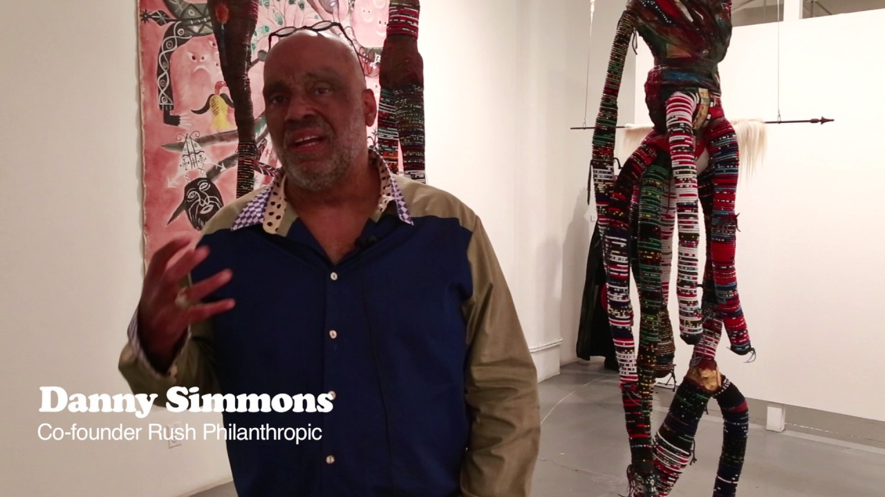 American Hoodoo curated by Danny Simmons and Shantrelle P  Lewis