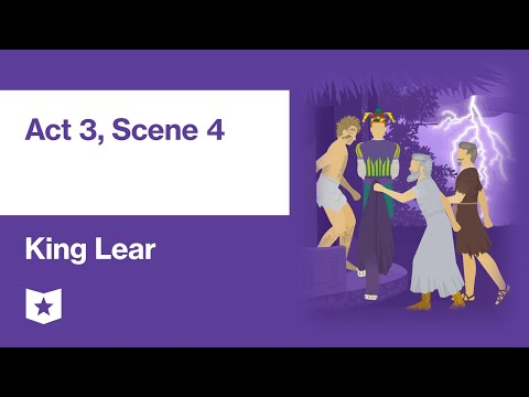 King Lear By William Shakespeare | Act 3, Scene 4