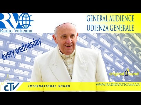 Pope Francis General Audience 2015.09.16