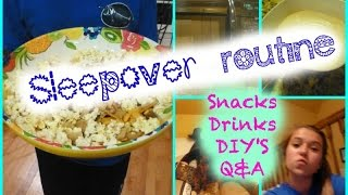 Sleepover Routine: DIY Snacks and Face Mask + Q&A Thumbnail