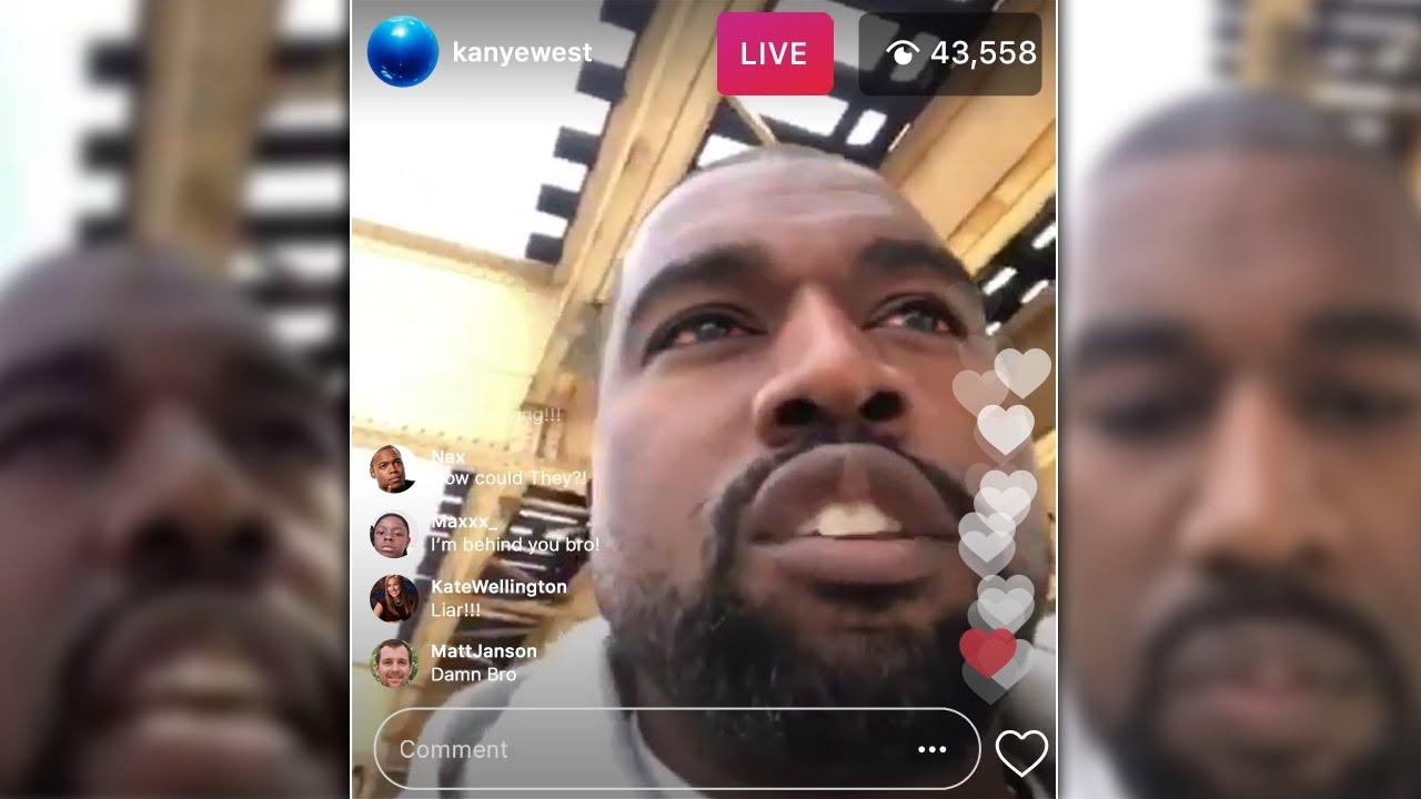 """They Are Shady"" Kanye West EXPOSES The Kardashians (IG LIVE)"