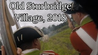 Old Sturbridge Village 2018, Saturday's Full Battle (Without Commentary)