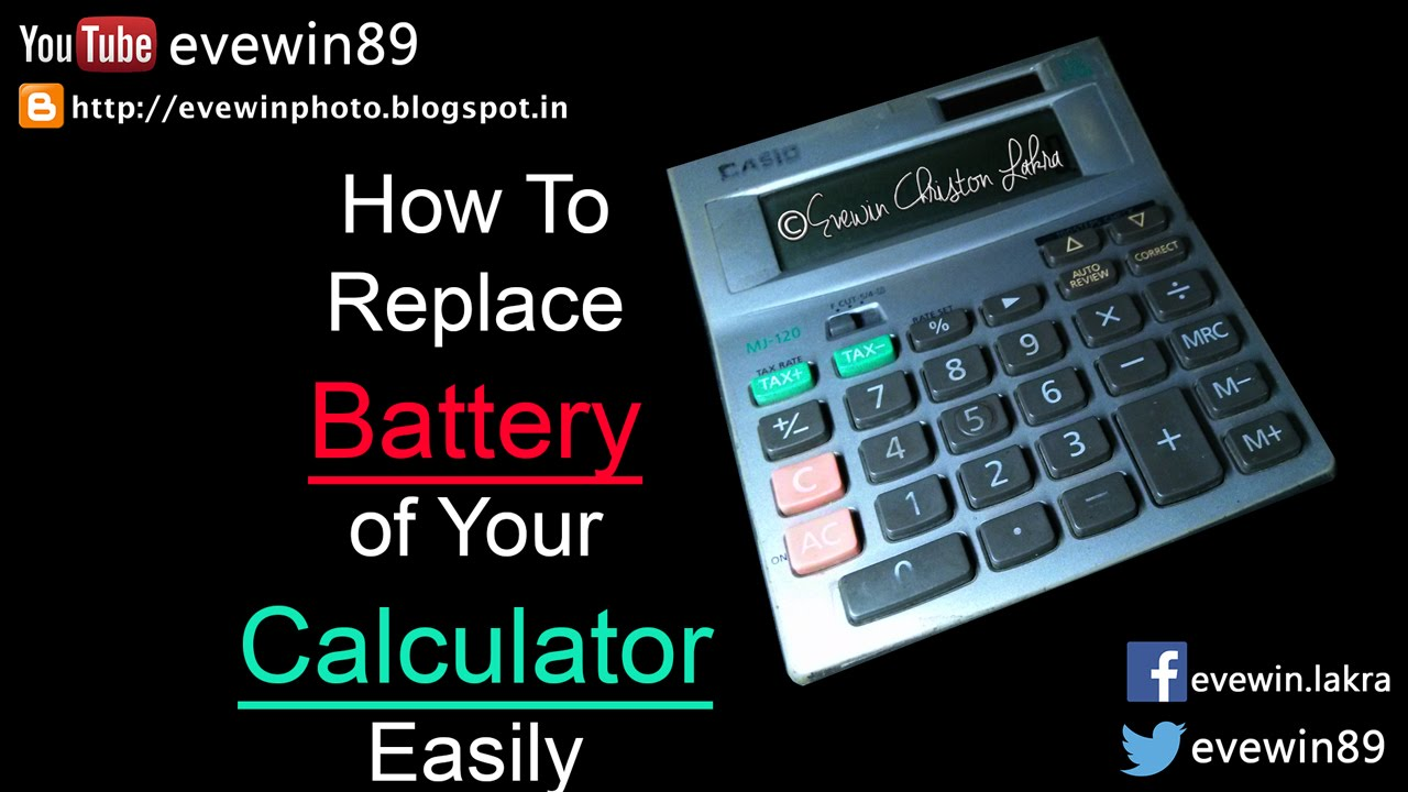 Evewin Lakra - How To - Replace - The Battery