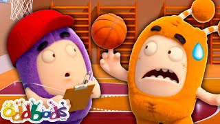 ODDBODS | Trouble Passing Phys Ed Class | Cartoons For Kids