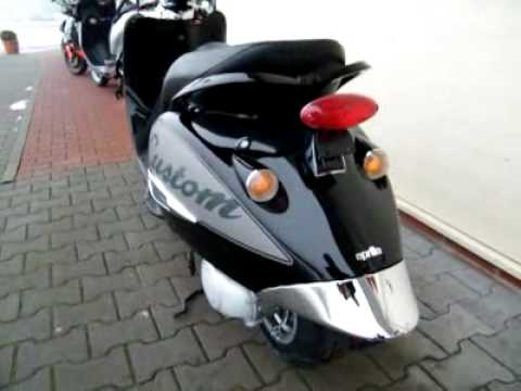 aprilia mojito 50 custom 2t 10 roller scooter youtube. Black Bedroom Furniture Sets. Home Design Ideas
