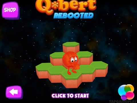 Qbert Rebooted - Gameplay Trailer (iOS, Android)