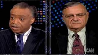 Al Sharpton slams Joe Arpaio on Arizona