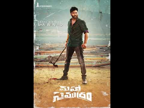 First Look Poster of #Sharwanand from #MahaSamudram 🌊