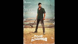First Look Poster Of #Sharwanand From #MahaSamudram Image