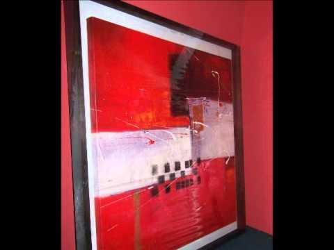 Cuadros modernos y espejos decorativos youtube for Espejos redondos decorativos modernos