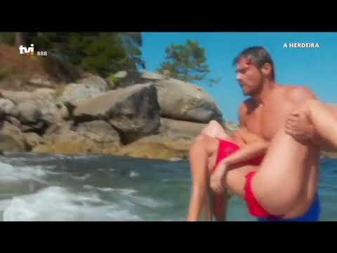 A HERDEIRA - Vicente tenta salvar Luz de morrer afogada!