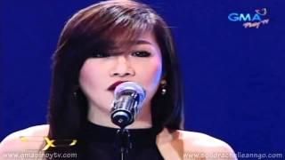 "[HD] Party Pilipinas ""In LOVE"" - Rachelle Ann Go Sings ""All I Ask Of You"" (2/6/2011)"