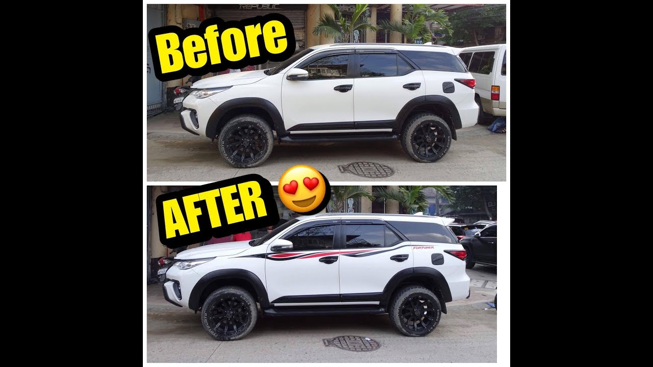 New decal of my fortuner ll decal republic ll josephvalleservlog