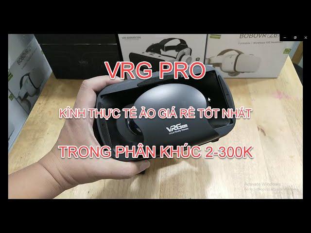 [ VRG Pro ] Kính thực tế ảo tốt nhất trong phân khúc giá rẻ 2-300k