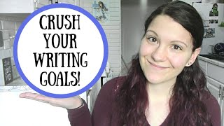 How to Reach Your Writing Goals ~ Writer Hack ~ Good Better Best Method