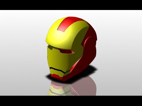 How to do an Ironman Helmet... FASTER!