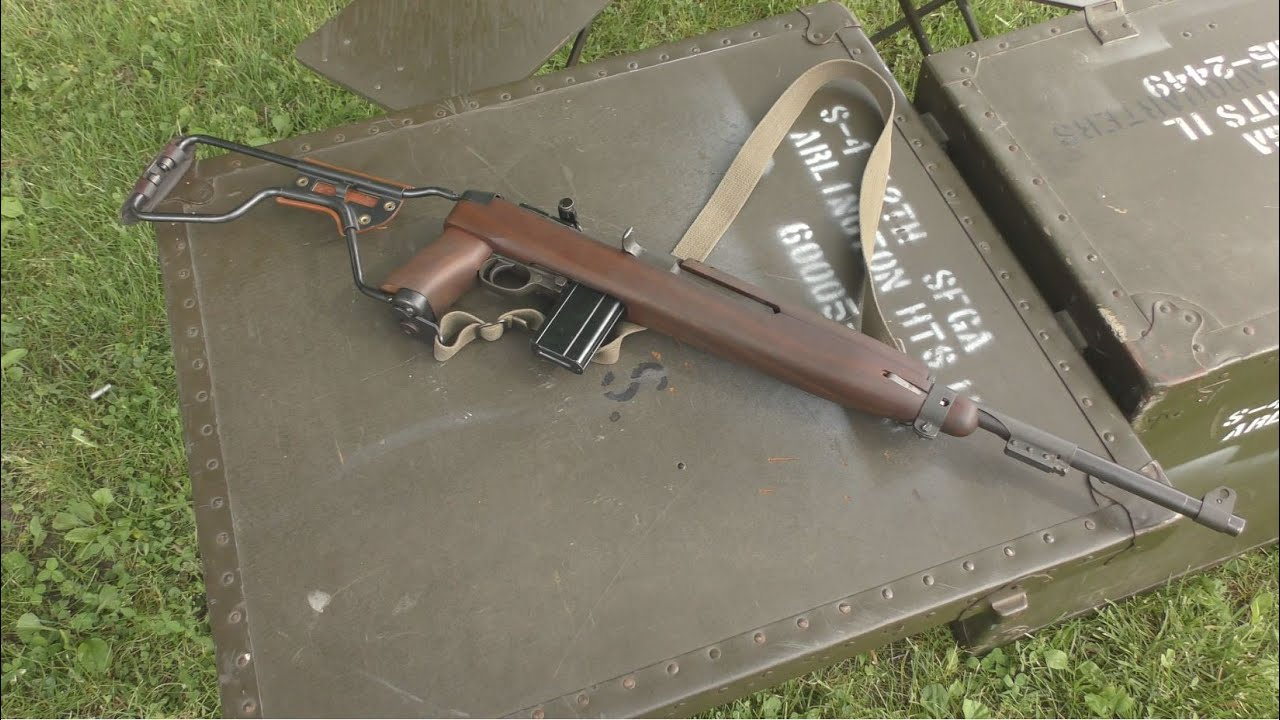 M1 Carbine Crooked sight - Finally hitting the target