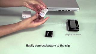 PowerPort™ Clip - Universal USB Battery Charger