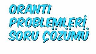 ORANTI PROBLEMLERİ SORU ÇÖZÜMÜ  YGS KAMPI 16 Matematik 37